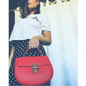 🆕Talia Red Top-Handle Bag and Crossbody
